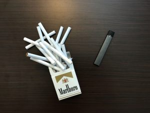 Juul versus a pack of cigarettes