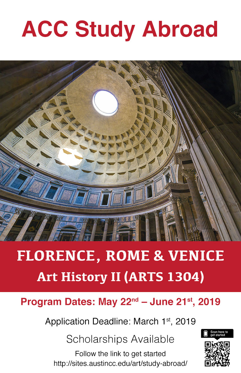 20181120_poster study abroad_Rome_web
