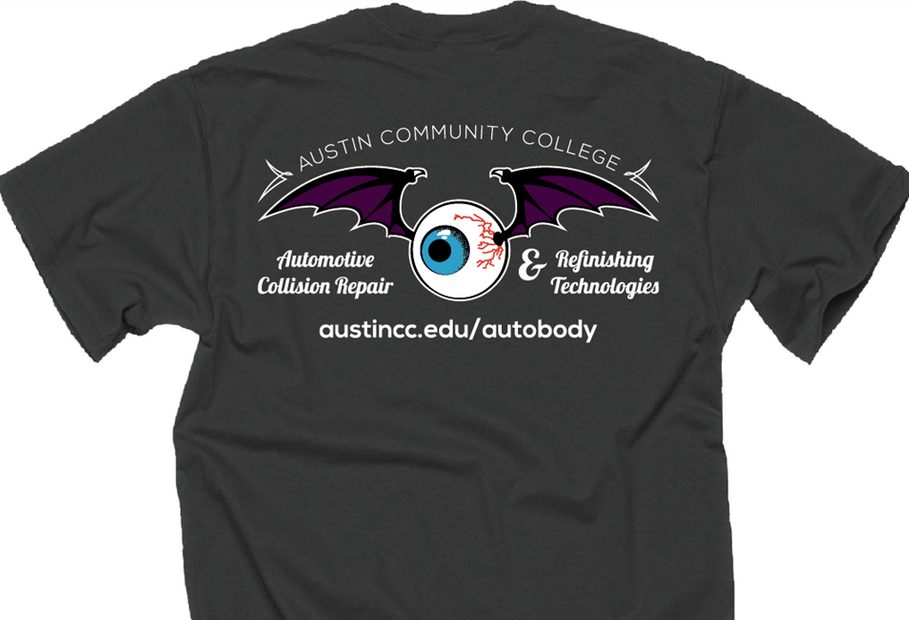 Automotive Collision Repair & Refinishing student T-shirts (Click Here)