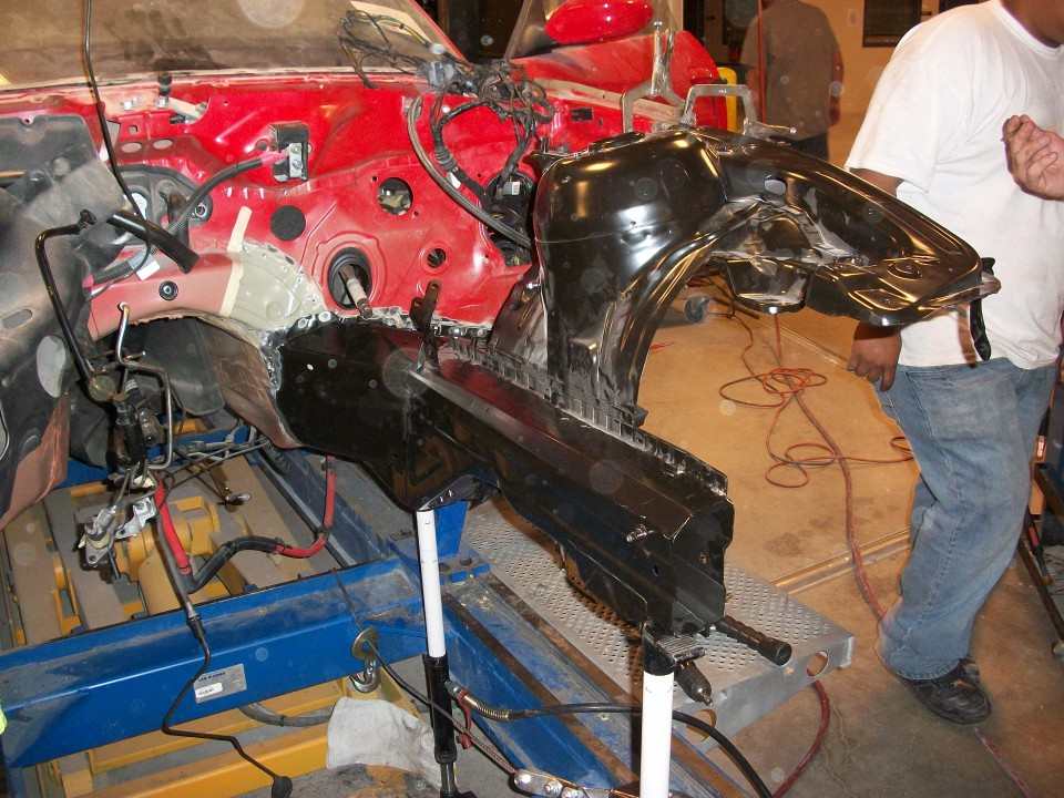 BMW Z3 structural 2 repair