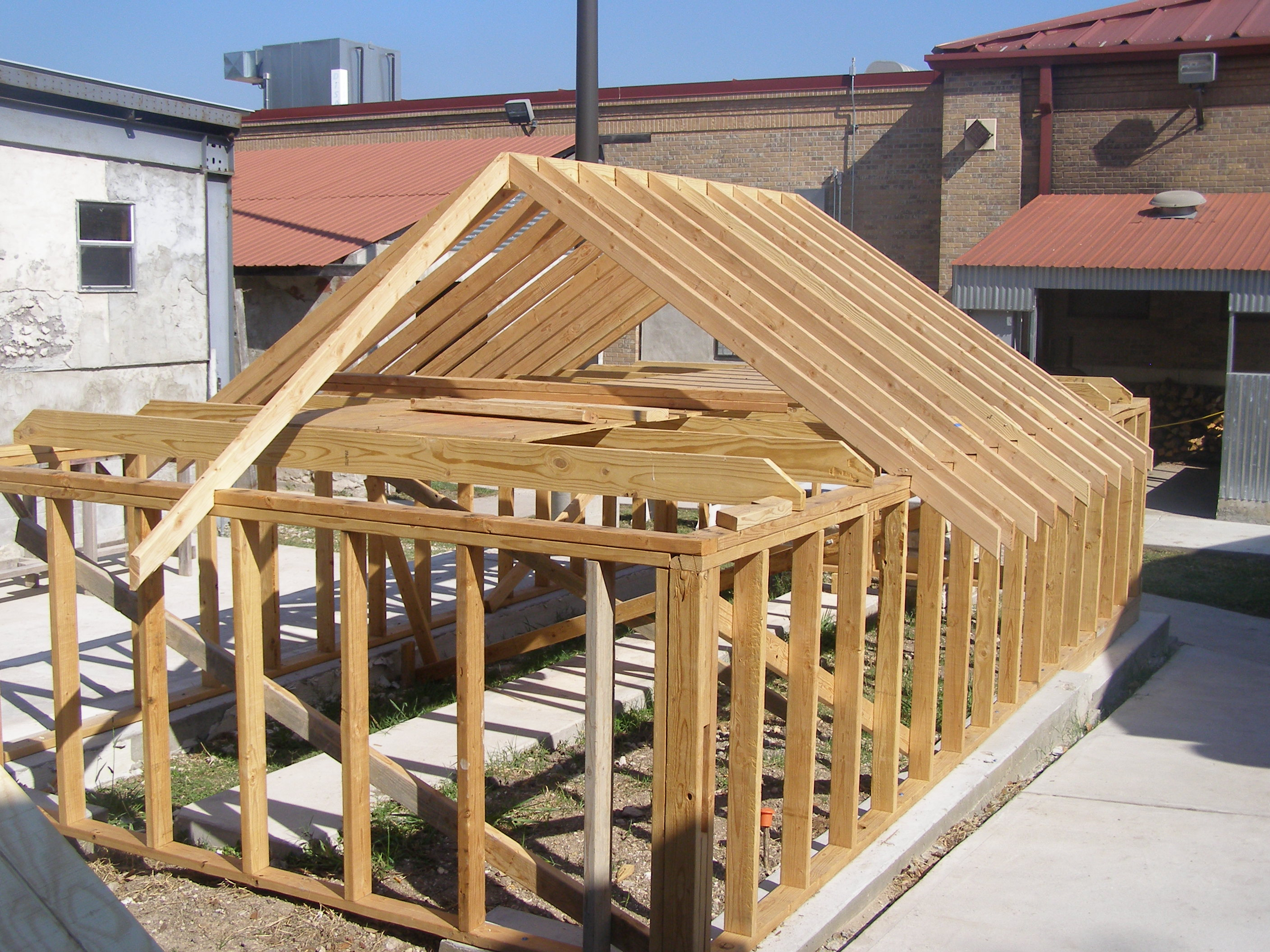 Roofing rafters