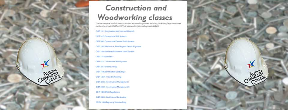 All Classes Building Construction Technology