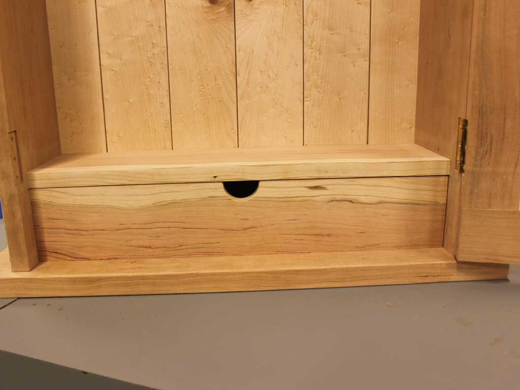 cabinet base with drawer