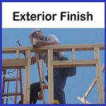 exterior finish class information