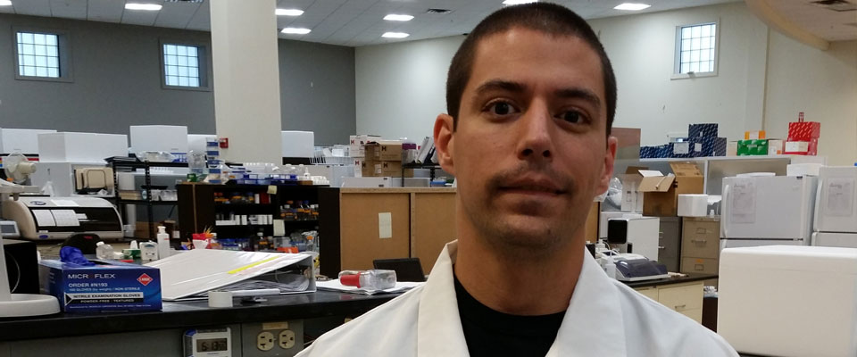 Cecil Shive credits his success to the ACC Biotech Program