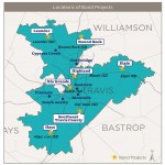 Locations of Proposed Bond Projects
