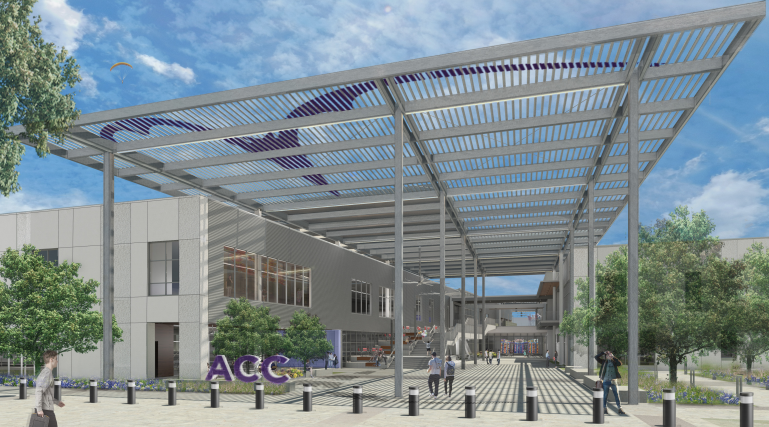 HLC Phase 2 Exterior Rendering