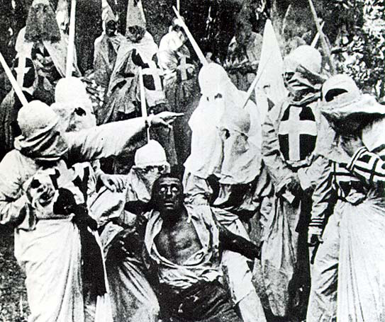 Scene from Birth of a Nation (1915)