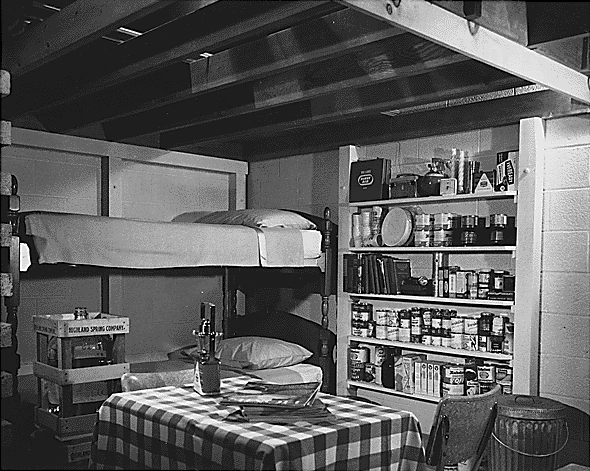 1950s Fallout Shelter, National Archives