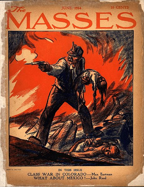 June, 1914 Issue of The Masses