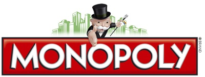 Monopoly Game Logo, Parker Brothers