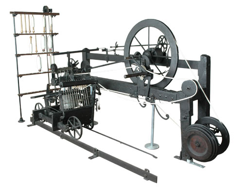 Spinning Mule, Samuel Crompton, Bolton Museum & Archive Service