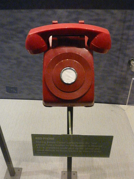 Red Phone Facsimile, Carter Library
