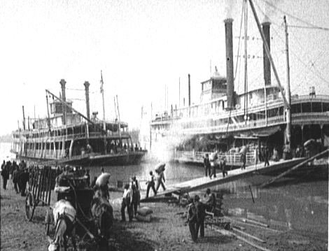 Mississippi River Landing, Memphis, Tennessee, 1906
