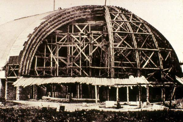Salt Lake Tabernacle, 1863-75, Harold B. Lee Library, Digital Collections, LDS Archives