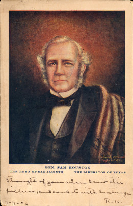 Sam Houston, University of Houston Digital Library