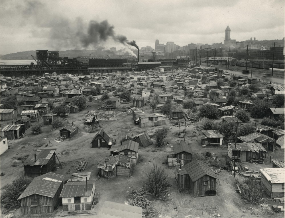 stock market crash great depression history hub hooverville in seattle washington