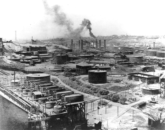Standard Oil, Cleveland Refinery #1, 1889