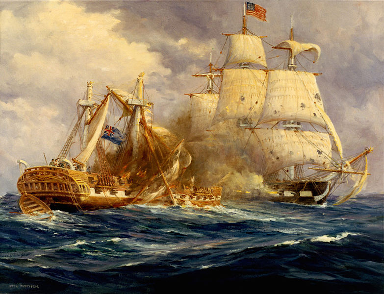 USS Constitution v. HMS Guerriere