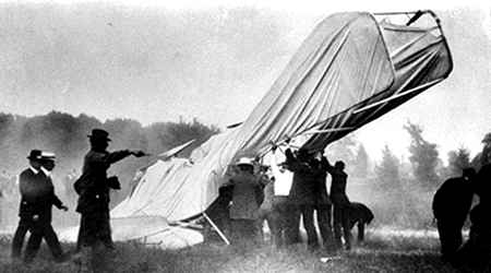 Wright Brothers' Fort Myer, Virginia Crash, 1908