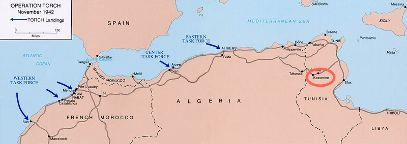 Operation TORCH, 1942