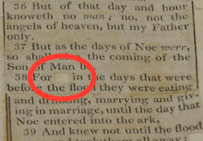 """Jefferson Deletes """"As"""" From King James Version of Bible to Avoid Three Prepositions in a Row"""