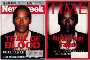 TIME Controversially Darkened O.J.'s Cover Image, 1994, WikiCommons
