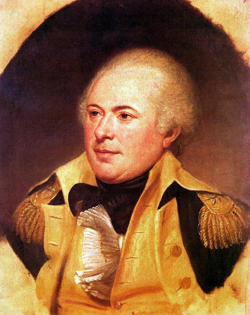 James Wilkinson, by Charles Willson Peale, 1796, Independence National Historical Park Collection, Philadelphia