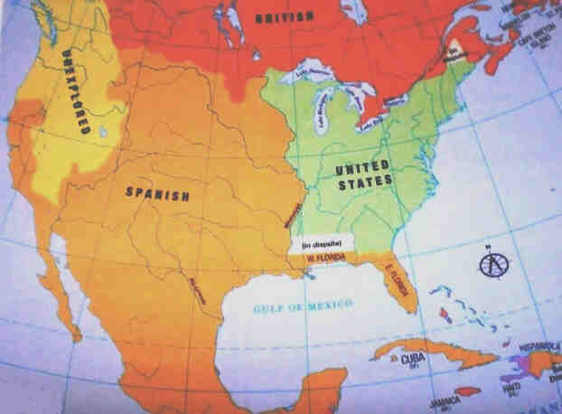 Nation Building History Hub - Us territory map the original addition of 1783