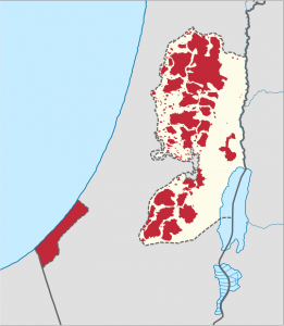 Palestinian National Authority (red)