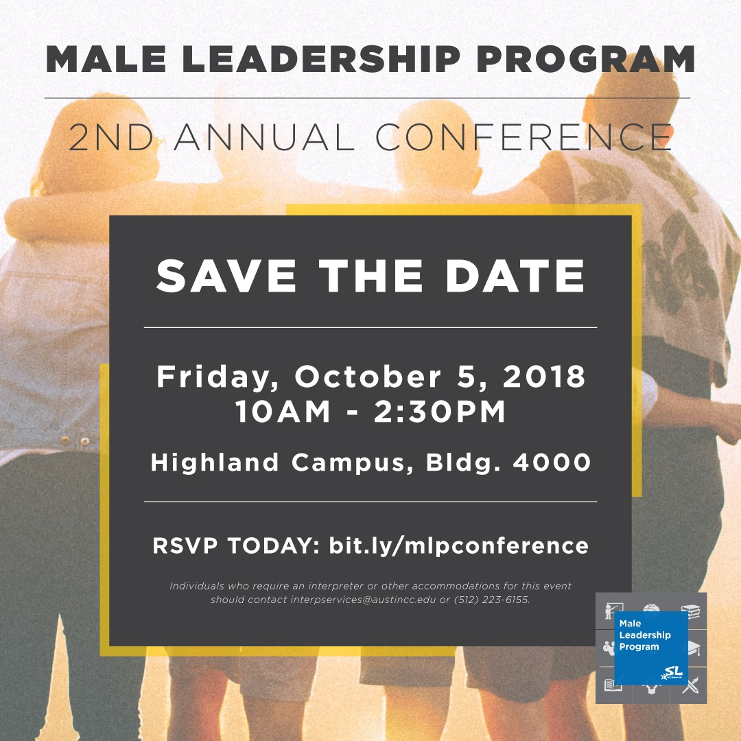 Male Leadership Program 2nd Annual Conference