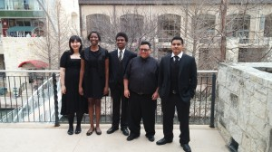 All State Singers after a great performance.