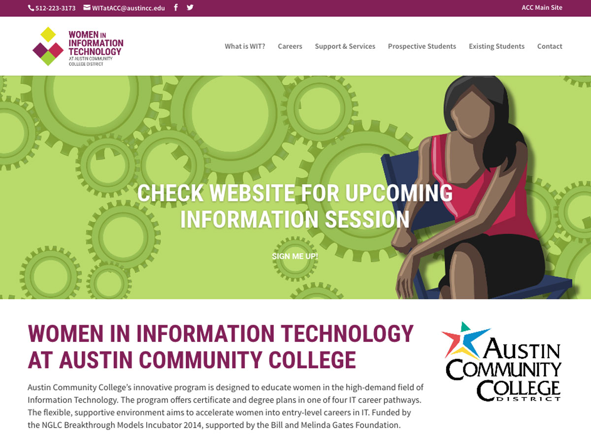 Accelerated programs acc computer science and information technology women in it 1betcityfo Gallery