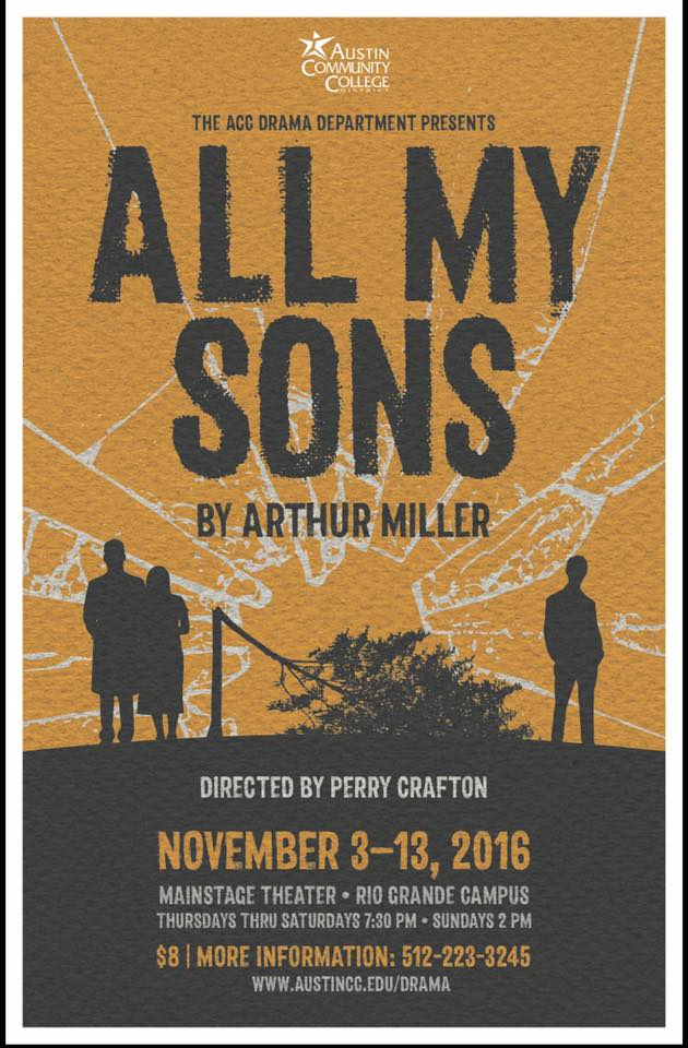 Production poster for all my sons.