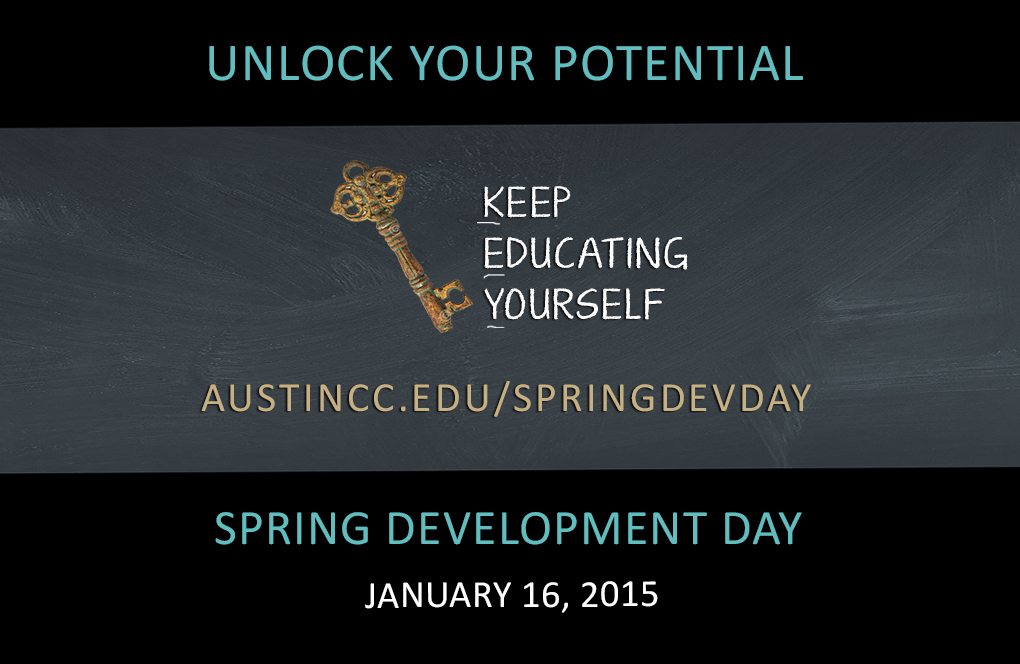 Spring Development Day – January 16, 2015