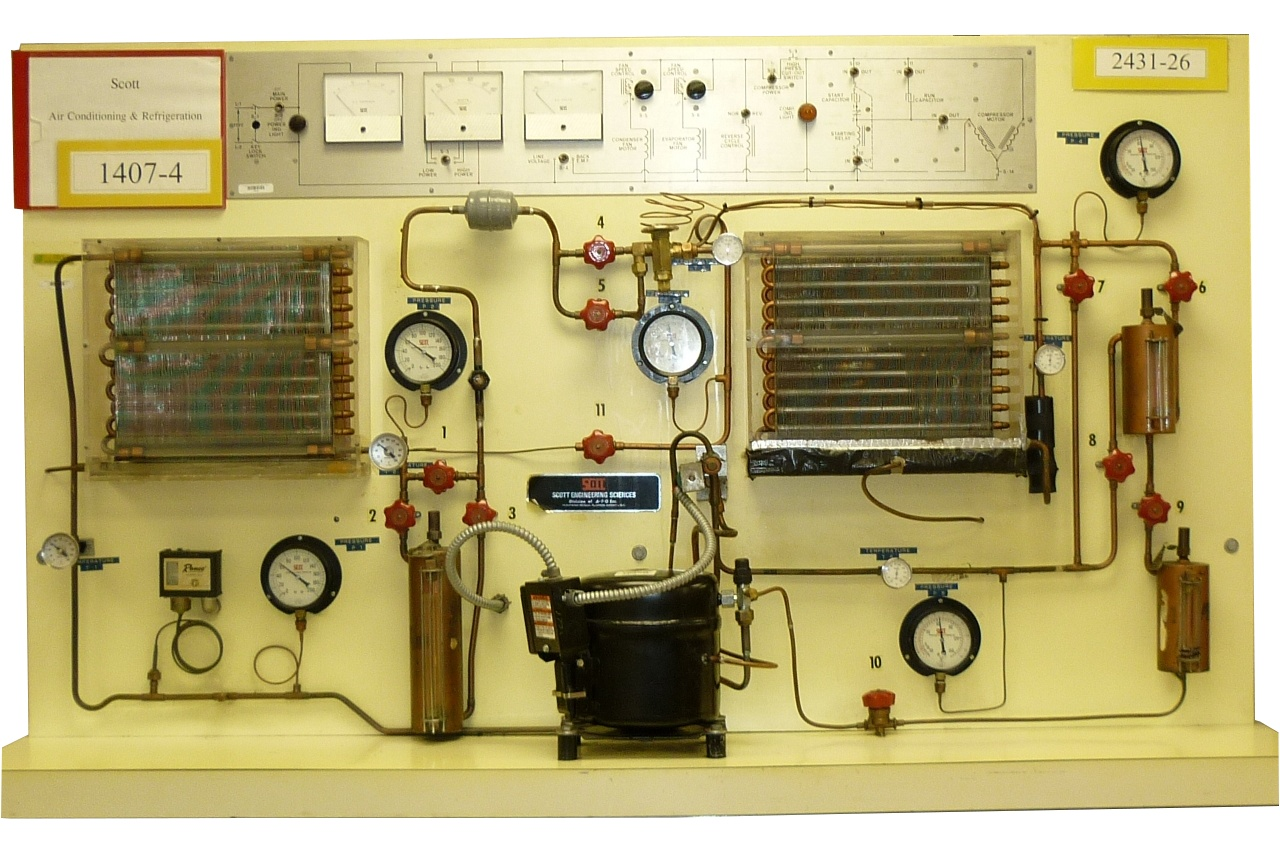 Refrigeration And Heating Trainers Heating Air