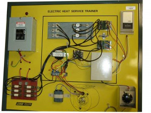 Electric Heat Service trainer