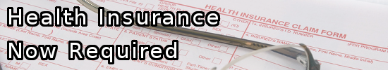 Health Insurance Required
