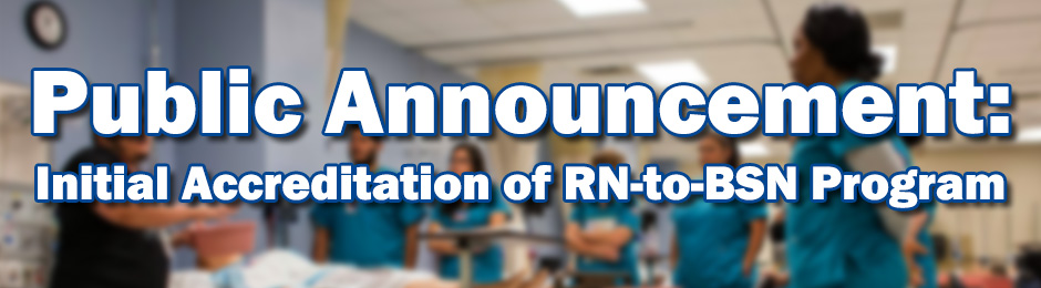 RN-to-BSN Site Visit