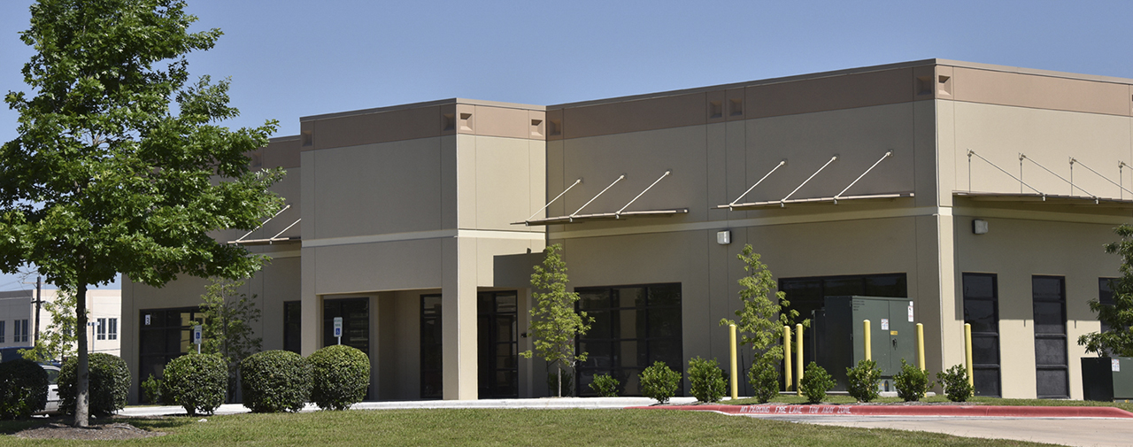 Image of outside of Texas Life-Sciences Collaboration Center (TLCC)