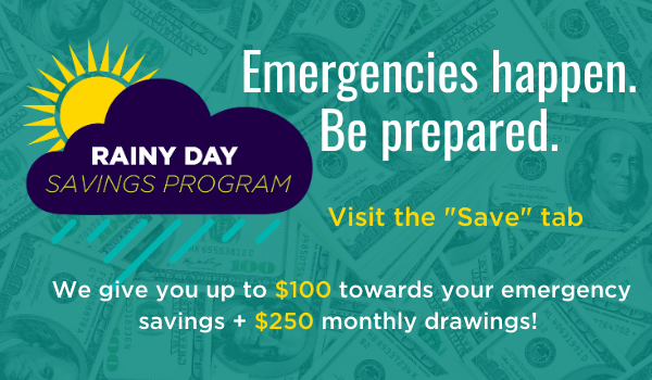 Rainy Day Savings Program