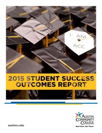 ACC 2015 Student Success Report