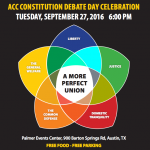 ACC students tackle voter rights at Constitution Day debate