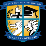 male leadership program logo