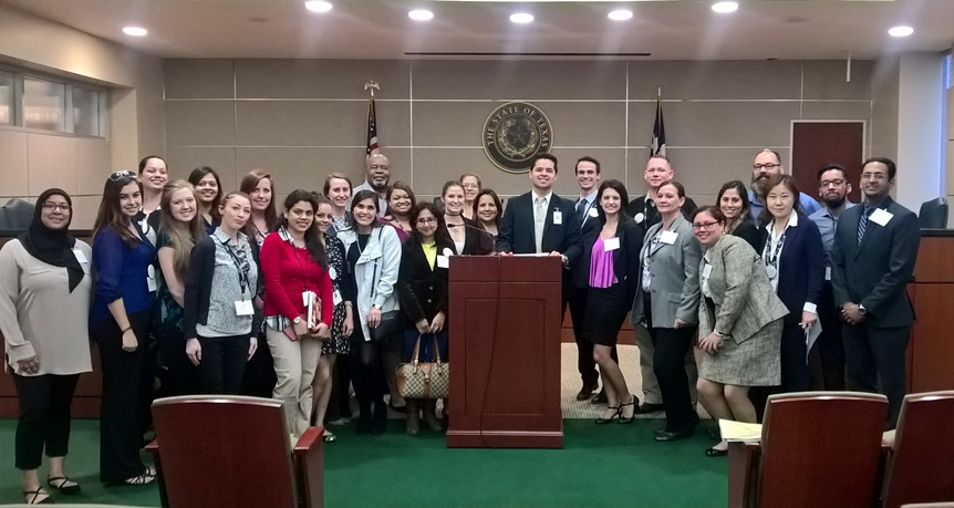 Hospitality Management students at capitol
