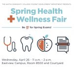Take part in health and wellness fair April 26