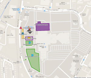 Highland Campus event map